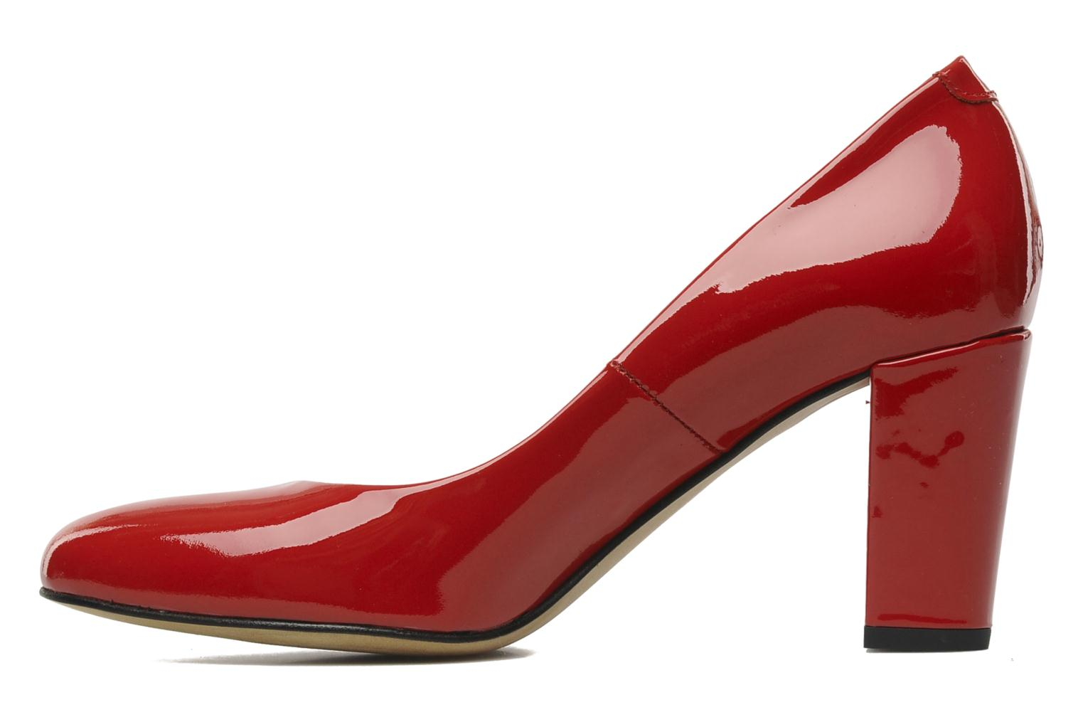 High heels Perlato Paty Red front view