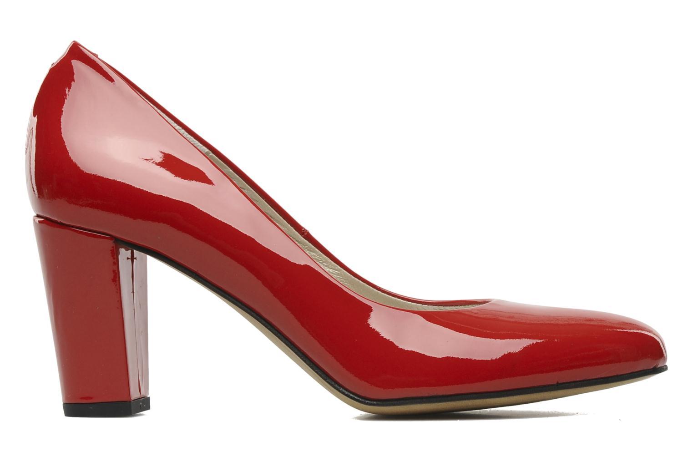 High heels Perlato Paty Red back view
