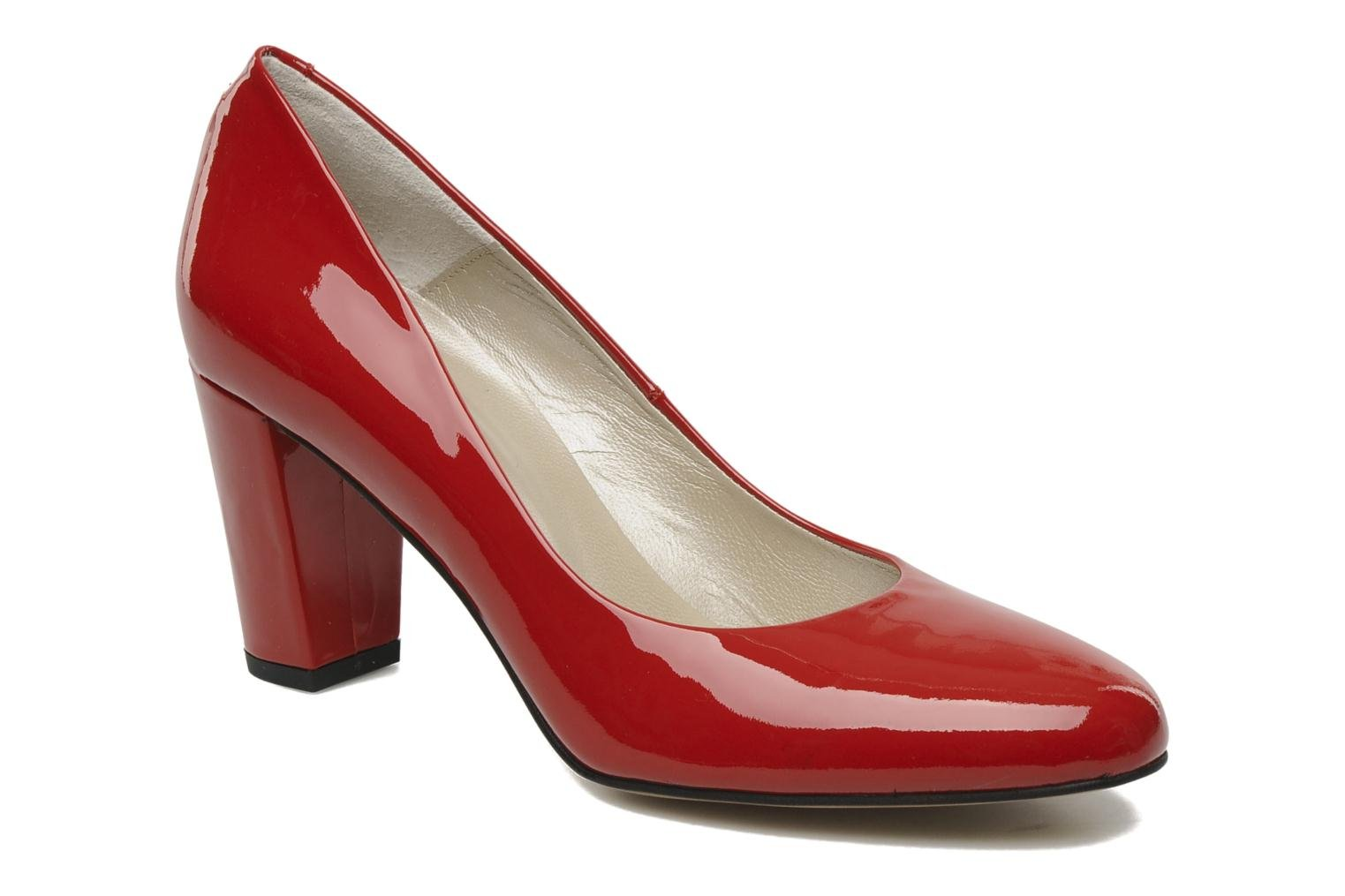 High heels Perlato Paty Red detailed view/ Pair view