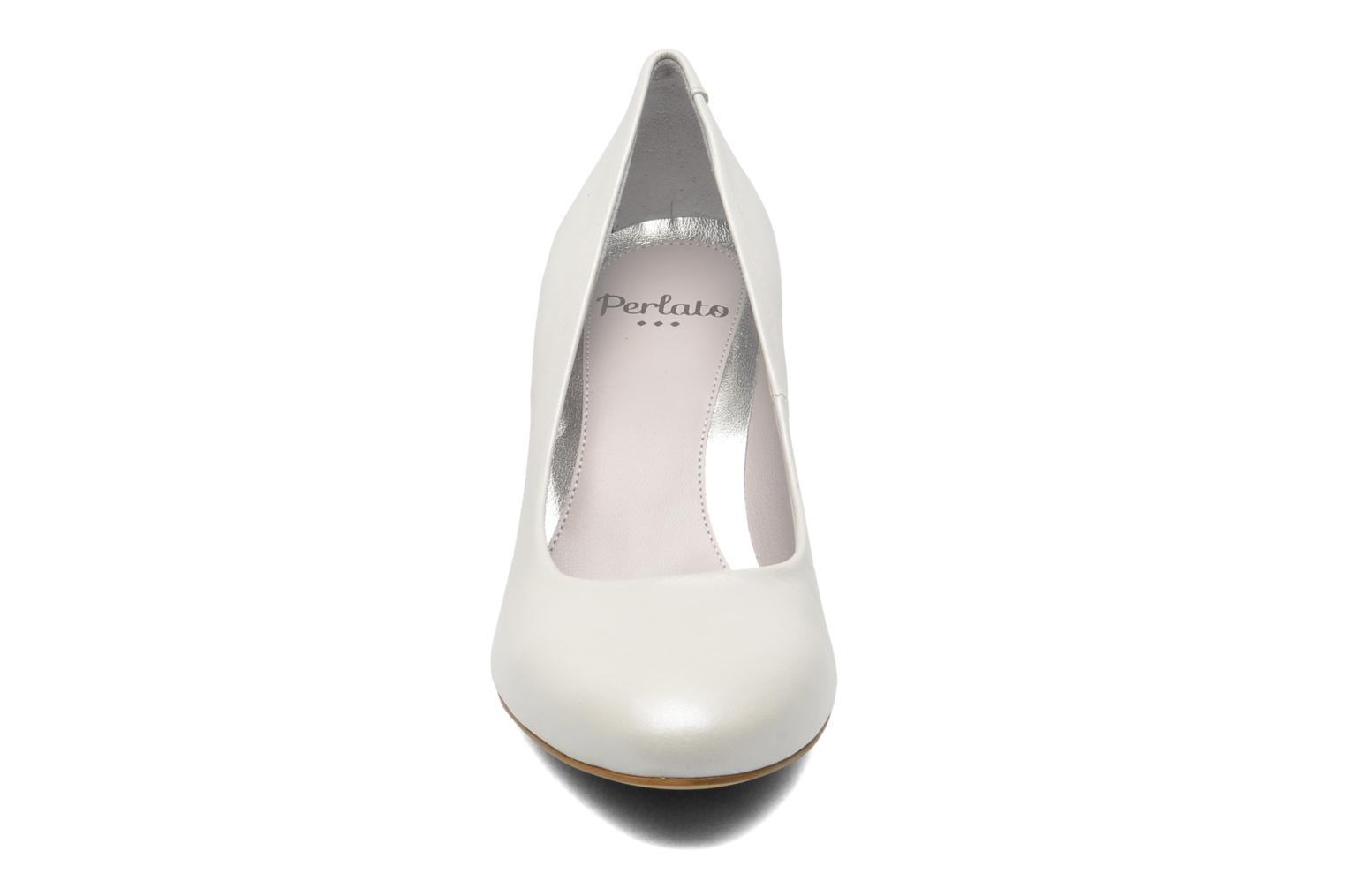 High heels Perlato Paty White model view