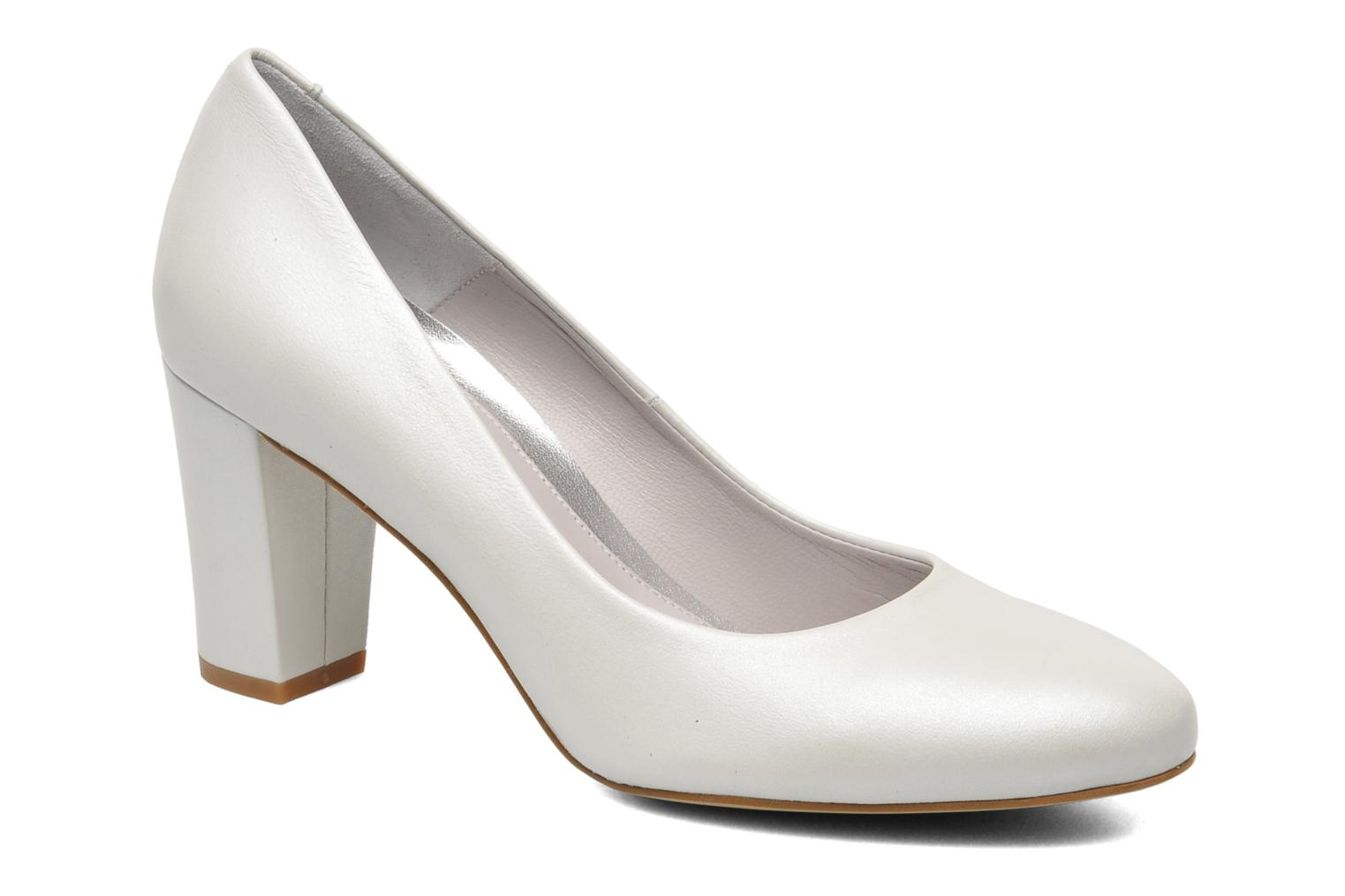 High heels Perlato Paty White detailed view/ Pair view