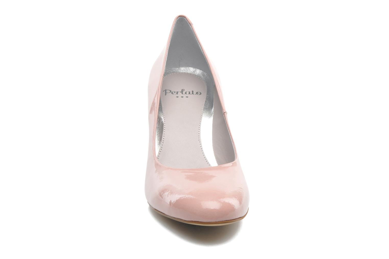 Zapatos de tacón Perlato Paty Rosa vista del modelo