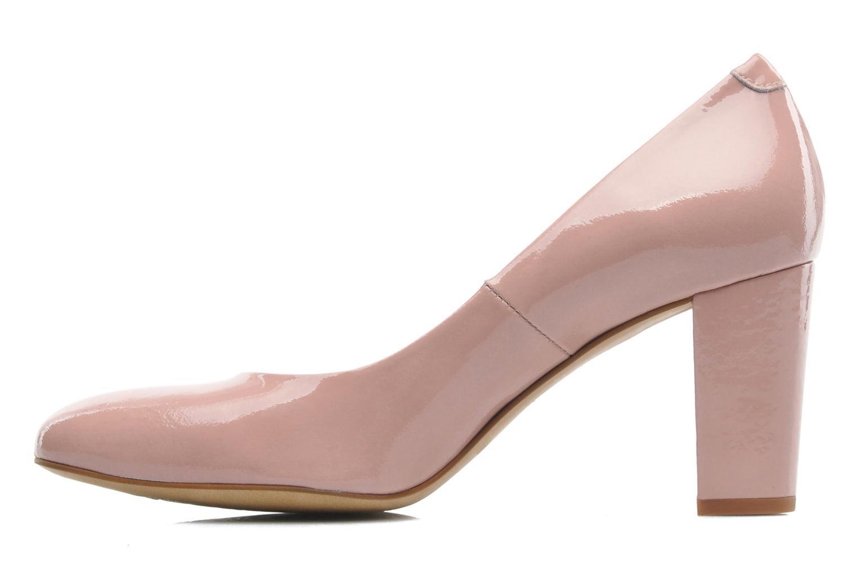 Zapatos de tacón Perlato Paty Rosa vista de frente
