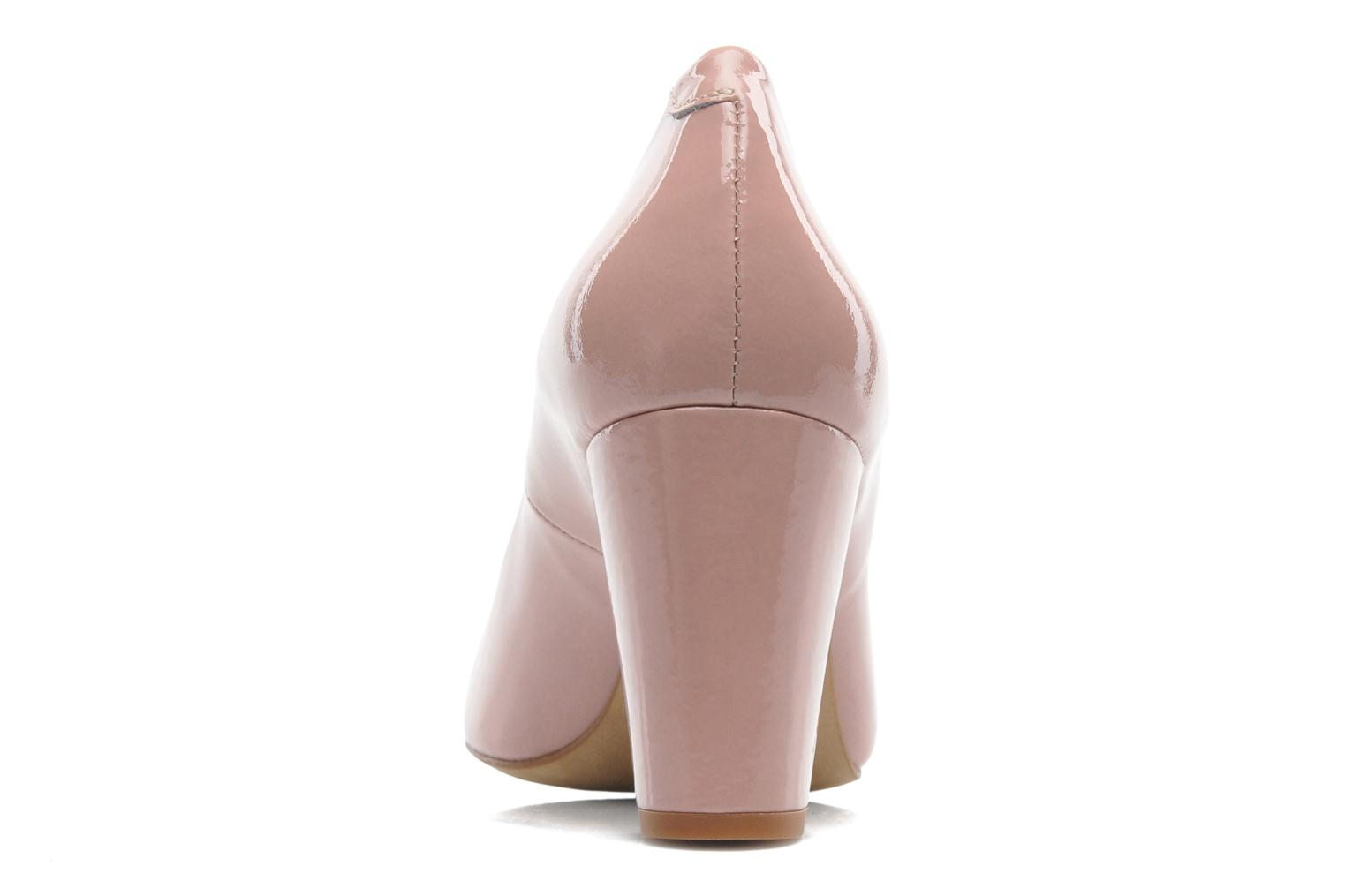 High heels Perlato Paty Pink view from the right