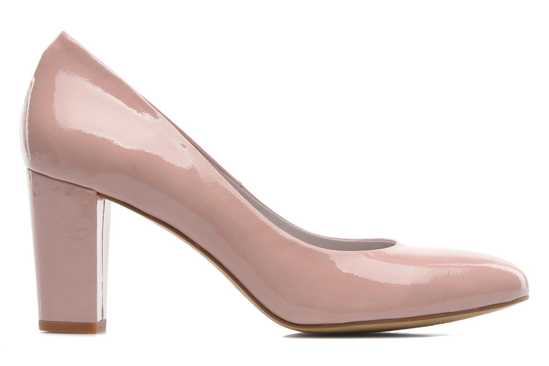 Zapatos de tacón Perlato Paty Rosa vistra trasera