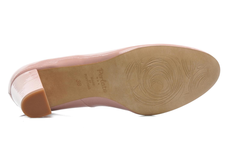 Zapatos de tacón Perlato Paty Rosa vista de arriba