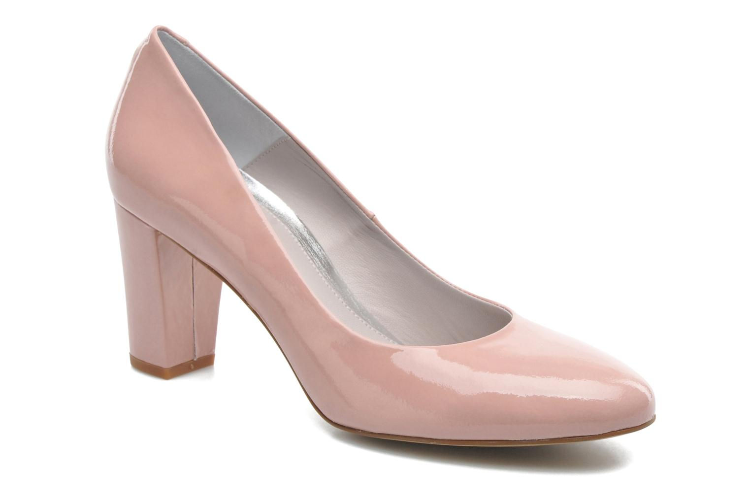 High heels Perlato Paty Pink detailed view/ Pair view