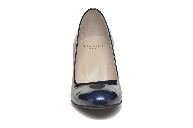 Zapatos de tacón Perlato Paty Azul vista del modelo