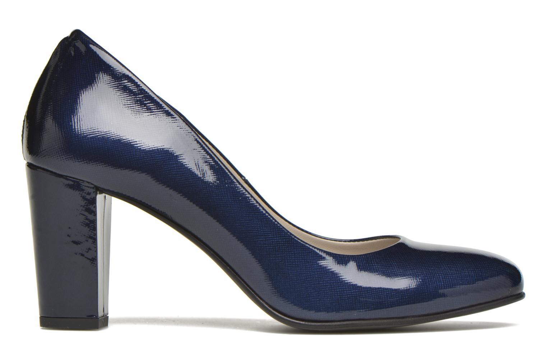 Zapatos de tacón Perlato Paty Azul vistra trasera