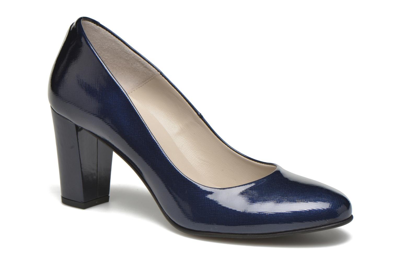 Zapatos de tacón Perlato Paty Azul vista de detalle / par