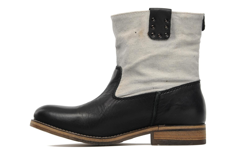 Bottines et boots Koah Daryl Noir vue face