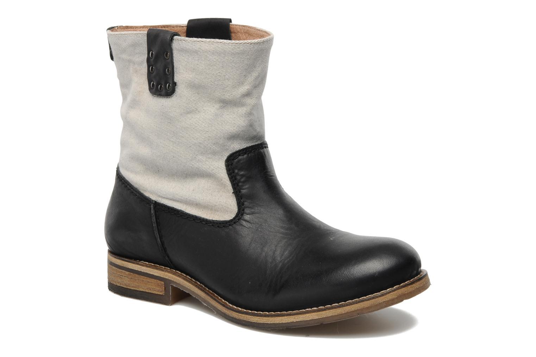 Boots en enkellaarsjes Koah Daryl Zwart detail