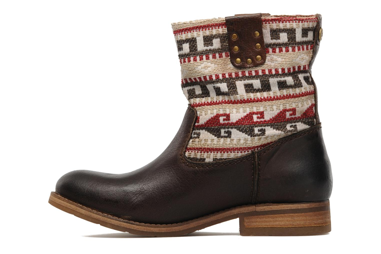 Bottines et boots Koah Dalia Marron vue face
