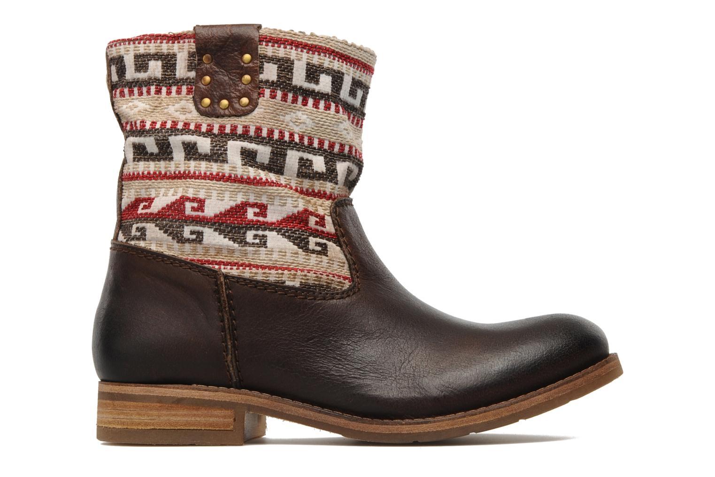 Ankle boots Koah Dalia Brown back view