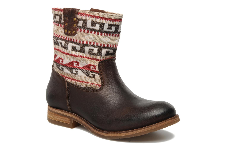 Boots en enkellaarsjes Koah Dalia Bruin detail