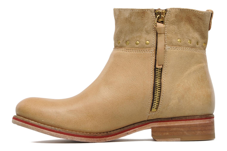 Bottines et boots Koah Noor Beige vue face