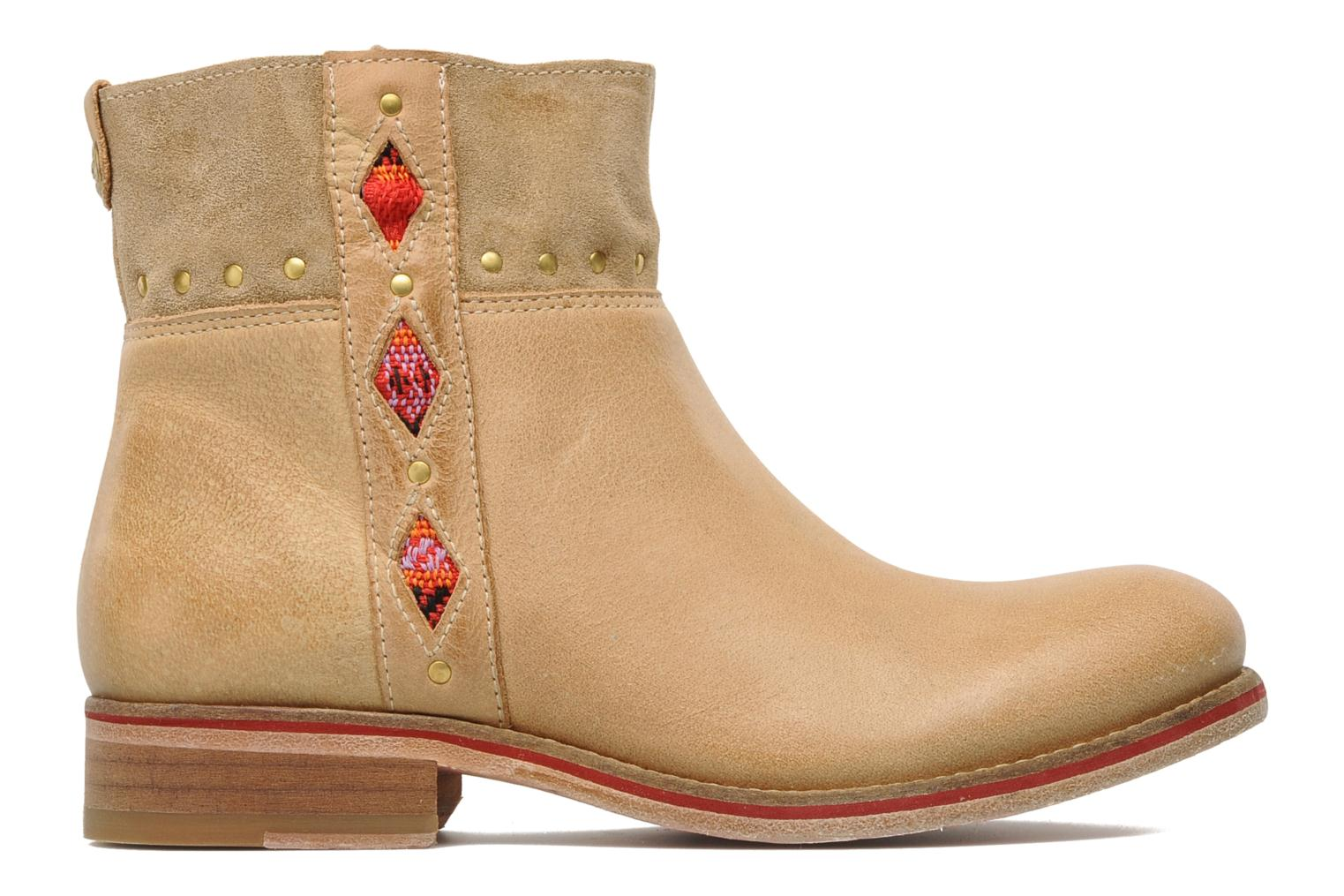 Ankle boots Koah Noor Beige back view