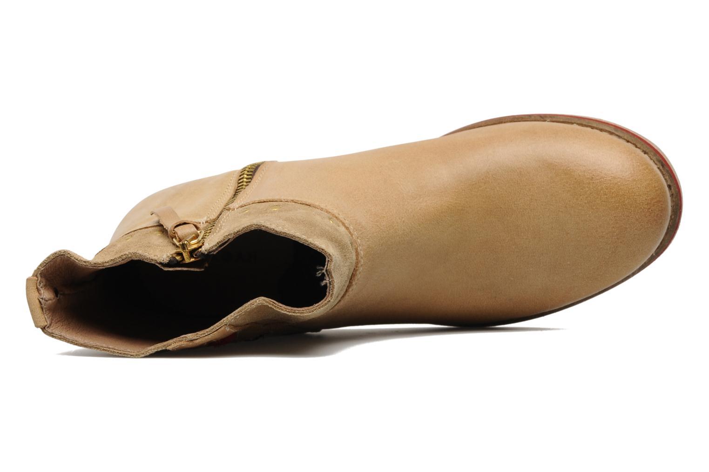Bottines et boots Koah Noor Beige vue gauche