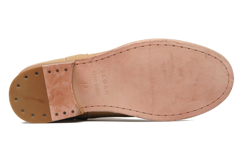 Bottines et boots Koah Noor Beige vue haut