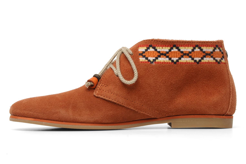 Chaussures à lacets Koah Yosra Orange vue face