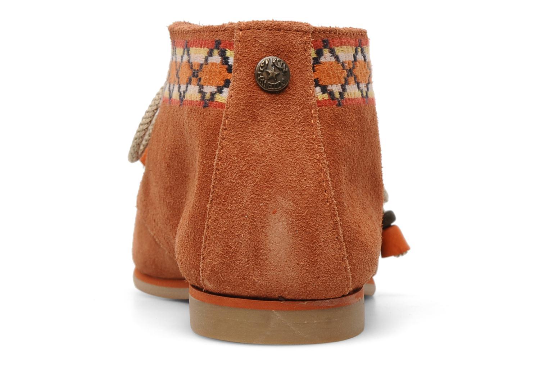 Chaussures à lacets Koah Yosra Orange vue droite