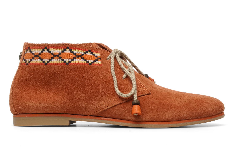Chaussures à lacets Koah Yosra Orange vue derrière