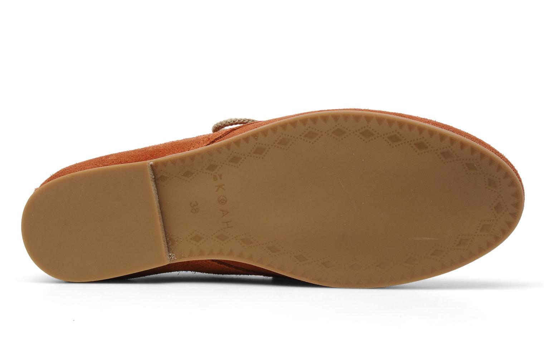Chaussures à lacets Koah Yosra Orange vue haut