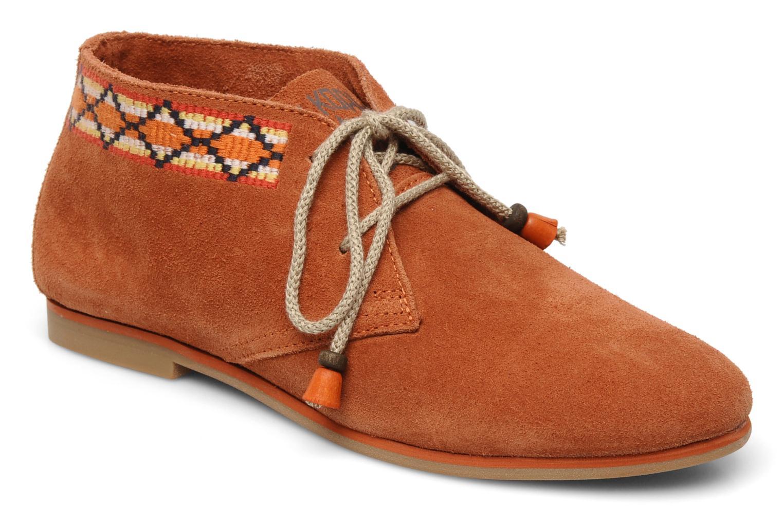 Chaussures à lacets Koah Yosra Orange vue détail/paire