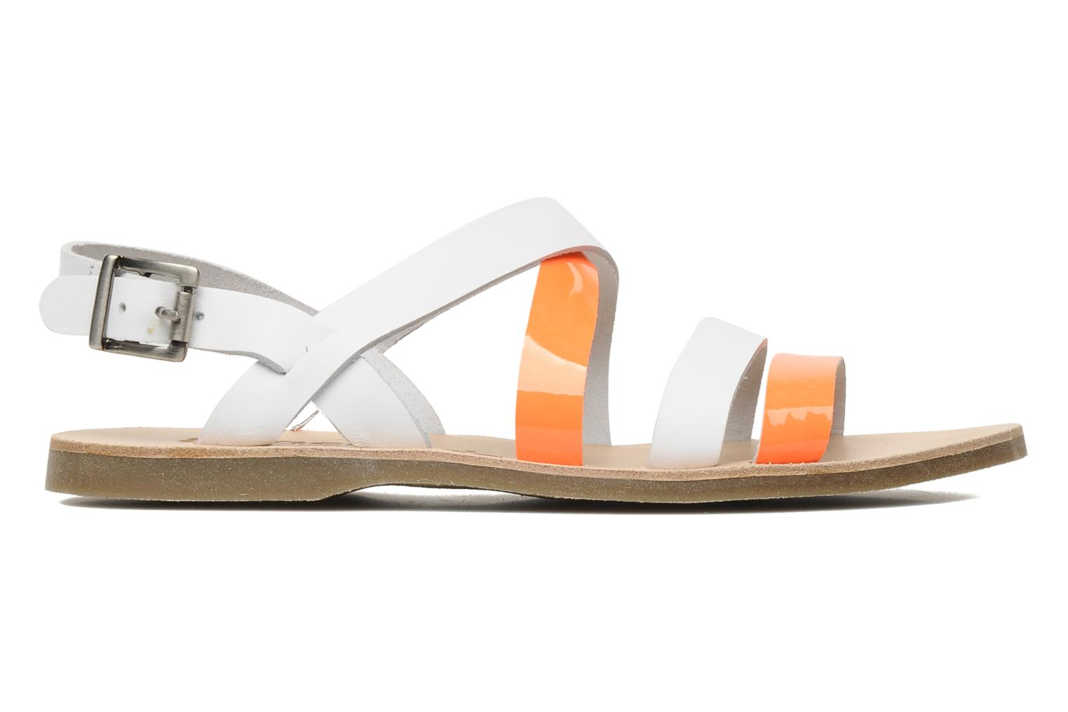 Sandals Acebo's Aurore Orange back view