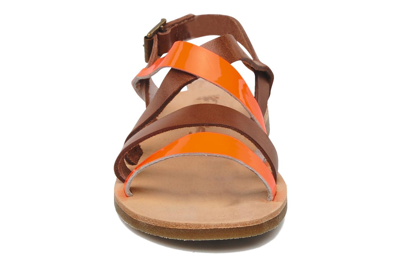Sandalen Acebo's Alice orange schuhe getragen