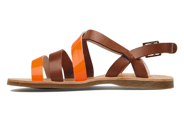 Sandalen Acebo's Alice orange ansicht von vorne