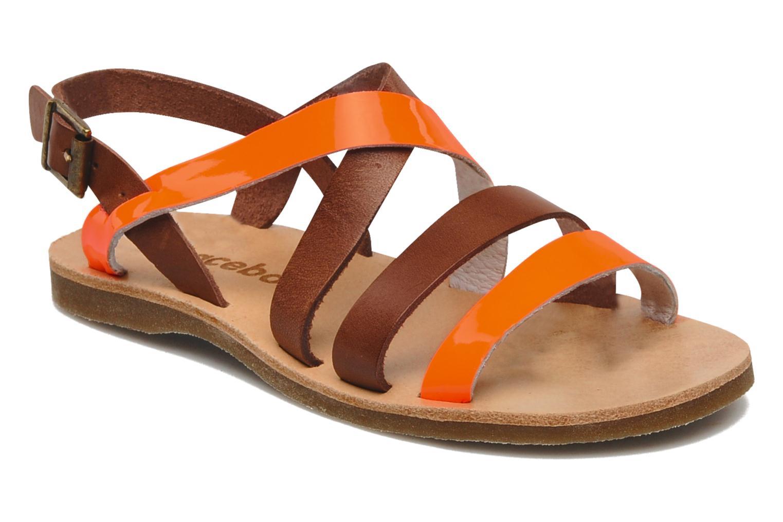 Sandalen Acebo's Alice orange detaillierte ansicht/modell