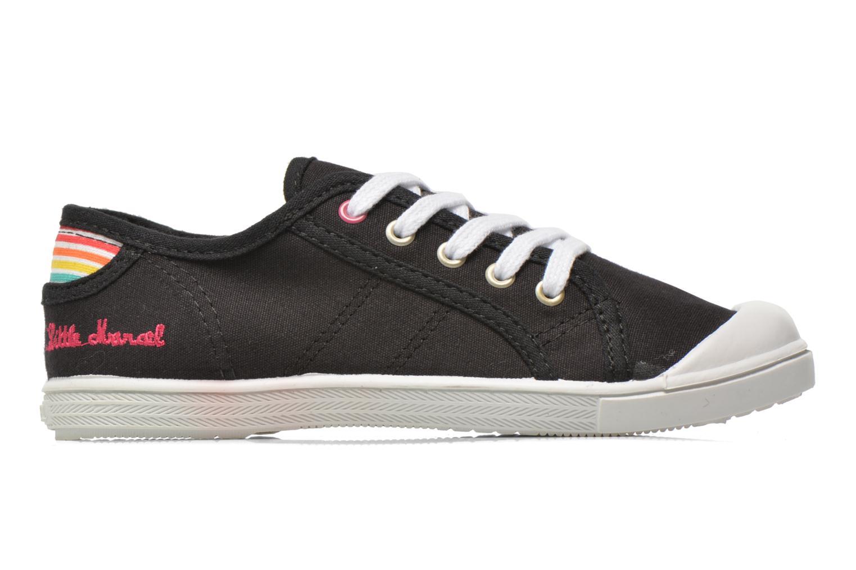 Sneakers Little Marcel Benilace Uni J Zwart achterkant
