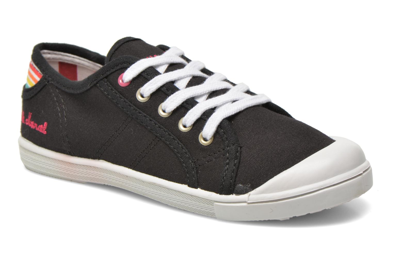 Sneakers Little Marcel Benilace Uni J Zwart detail