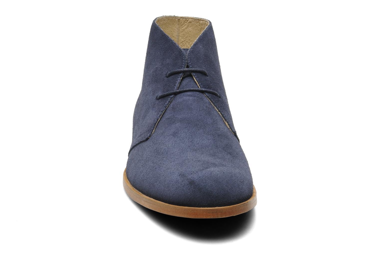 Chaussures à lacets Opening Ceremony CL-M1 DESERT BOOT Bleu vue portées chaussures