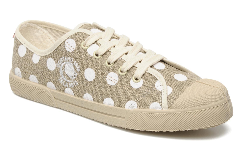 Sneakers Stéphane Gontard Teiko Beige detaljeret billede af skoene