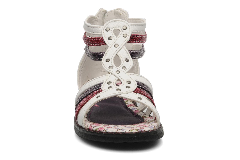 Sandales et nu-pieds I Love Shoes Jicole Blanc vue portées chaussures