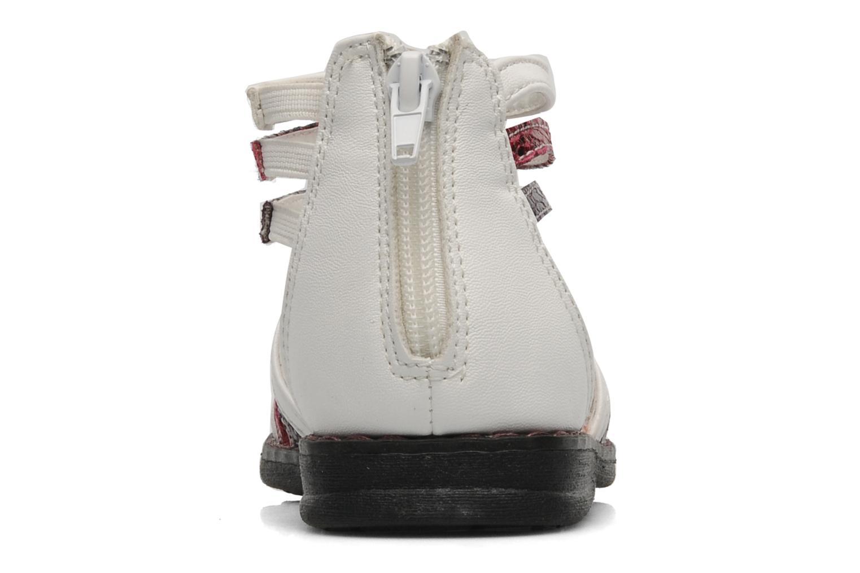 Sandales et nu-pieds I Love Shoes Jicole Blanc vue droite