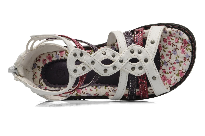 Sandales et nu-pieds I Love Shoes Jicole Blanc vue gauche