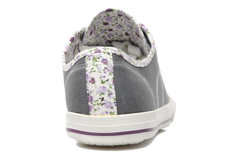 Baskets I Love Shoes Julienne Gris vue droite