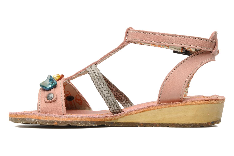 Sandales et nu-pieds Art Dance 310 Rose vue face