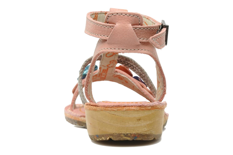 Sandales et nu-pieds Art Dance 310 Rose vue droite