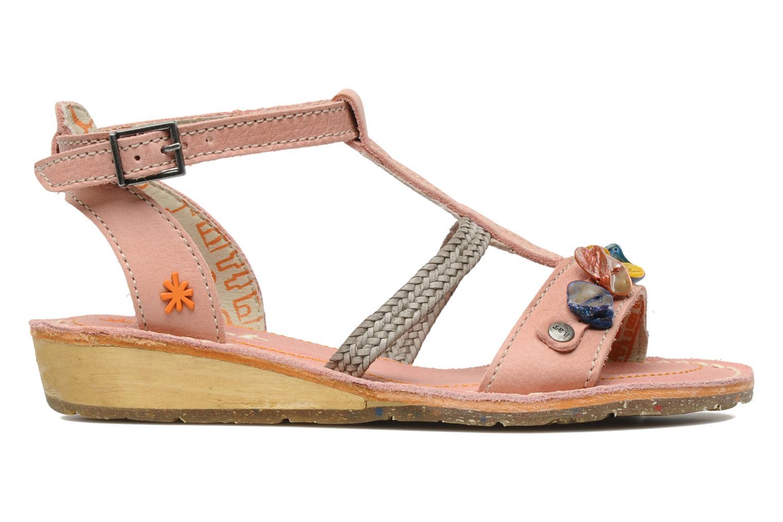 Sandales et nu-pieds Art Dance 310 Rose vue derrière