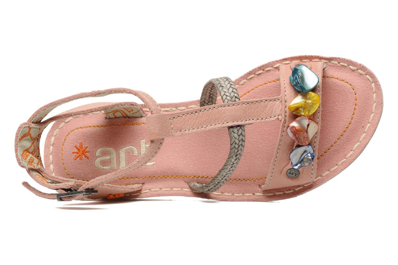 Sandales et nu-pieds Art Dance 310 Rose vue gauche