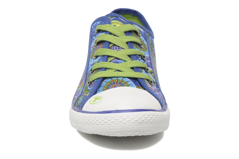 Sneaker Tom Tailor Susan blau schuhe getragen