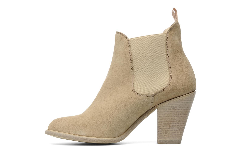 Boots en enkellaarsjes Georgia Rose Parfino Beige voorkant