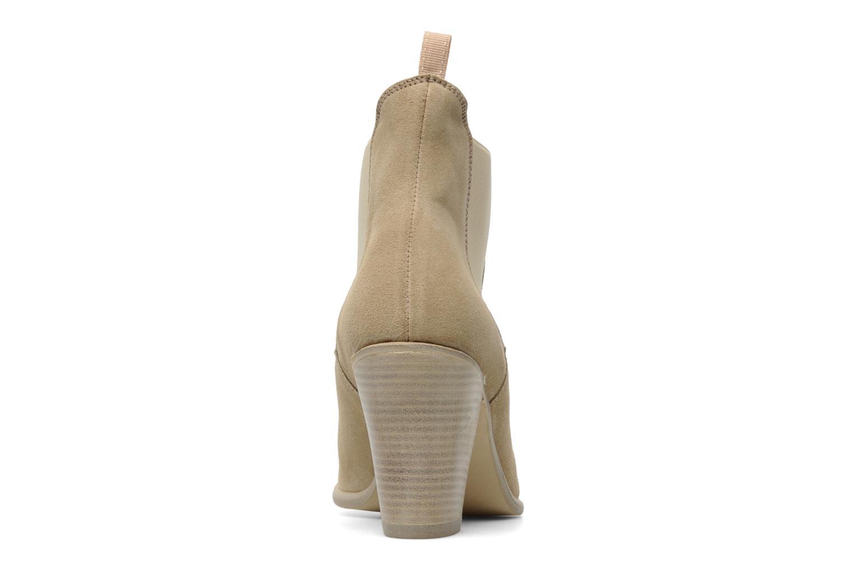 Boots en enkellaarsjes Georgia Rose Parfino Beige rechts