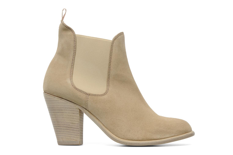 Boots en enkellaarsjes Georgia Rose Parfino Beige achterkant
