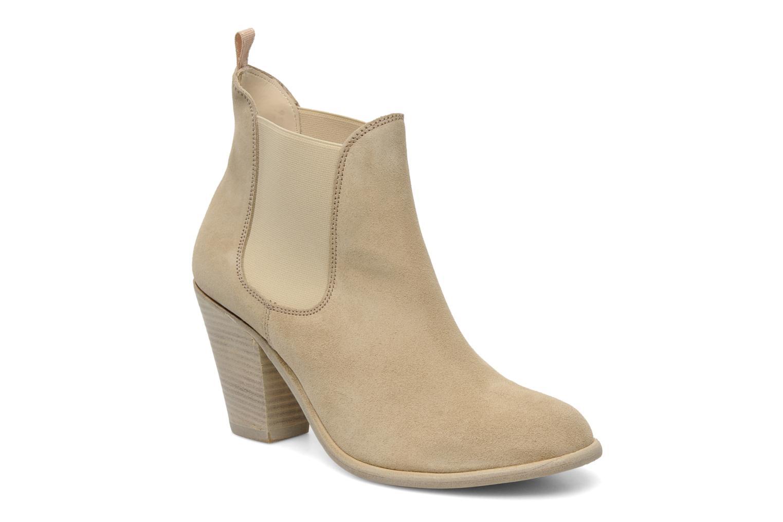 Boots en enkellaarsjes Georgia Rose Parfino Beige detail