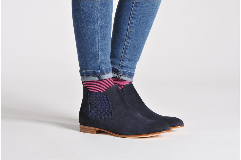 Bottines et boots Georgia Rose Parva Beige vue bas / vue portée sac